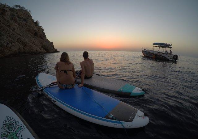 Escapada romántica & Paddle Surf Ibiza